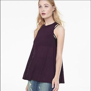 Express tank top with key hole back